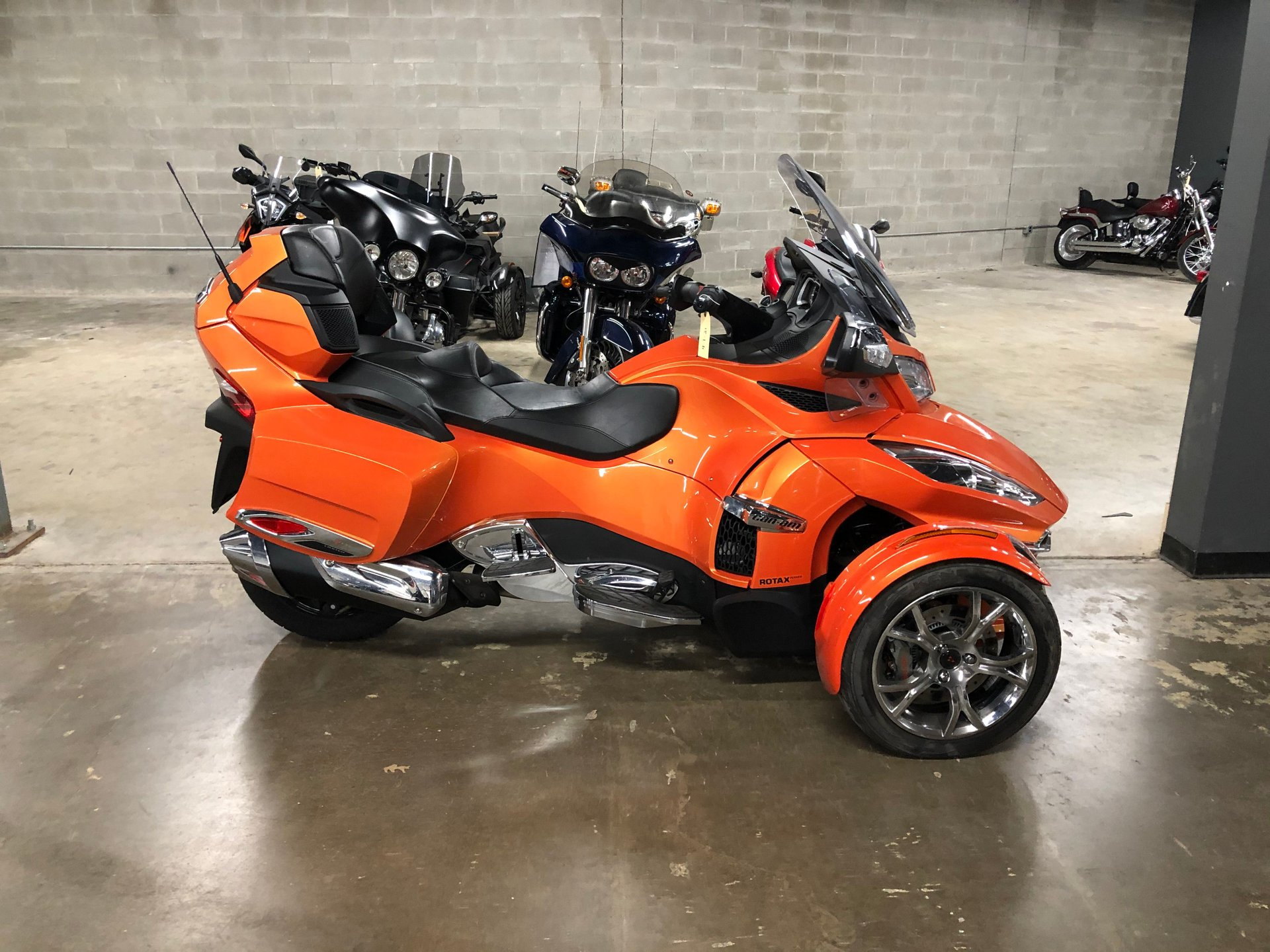 2019 can am spyder rt limited chrome se6 trike