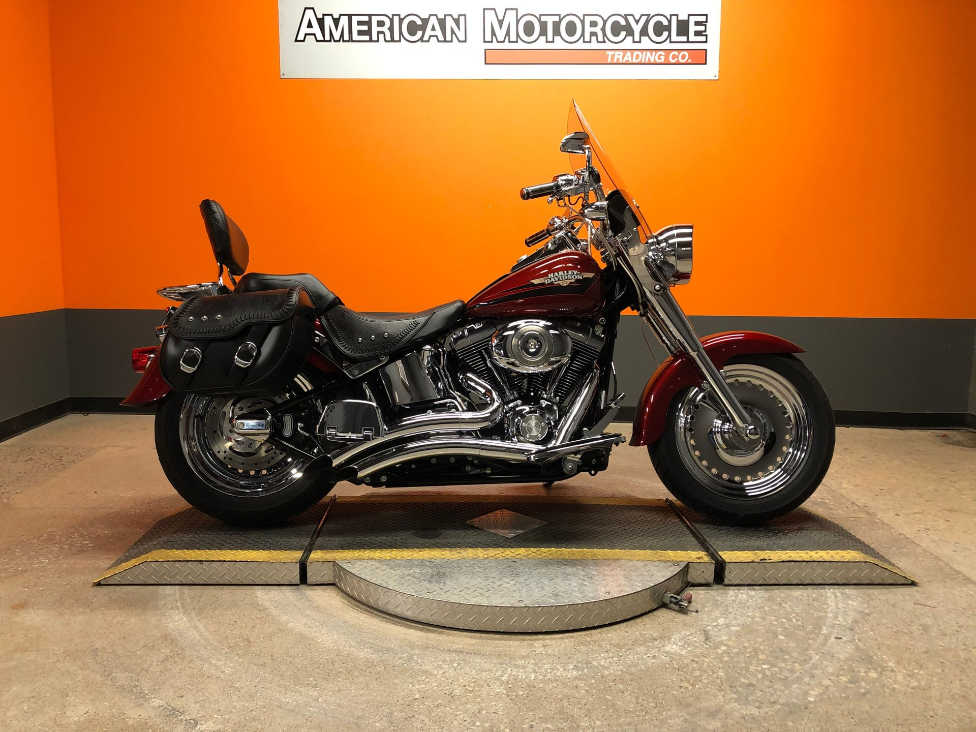 2009 harley davidson softail fat boy flstf