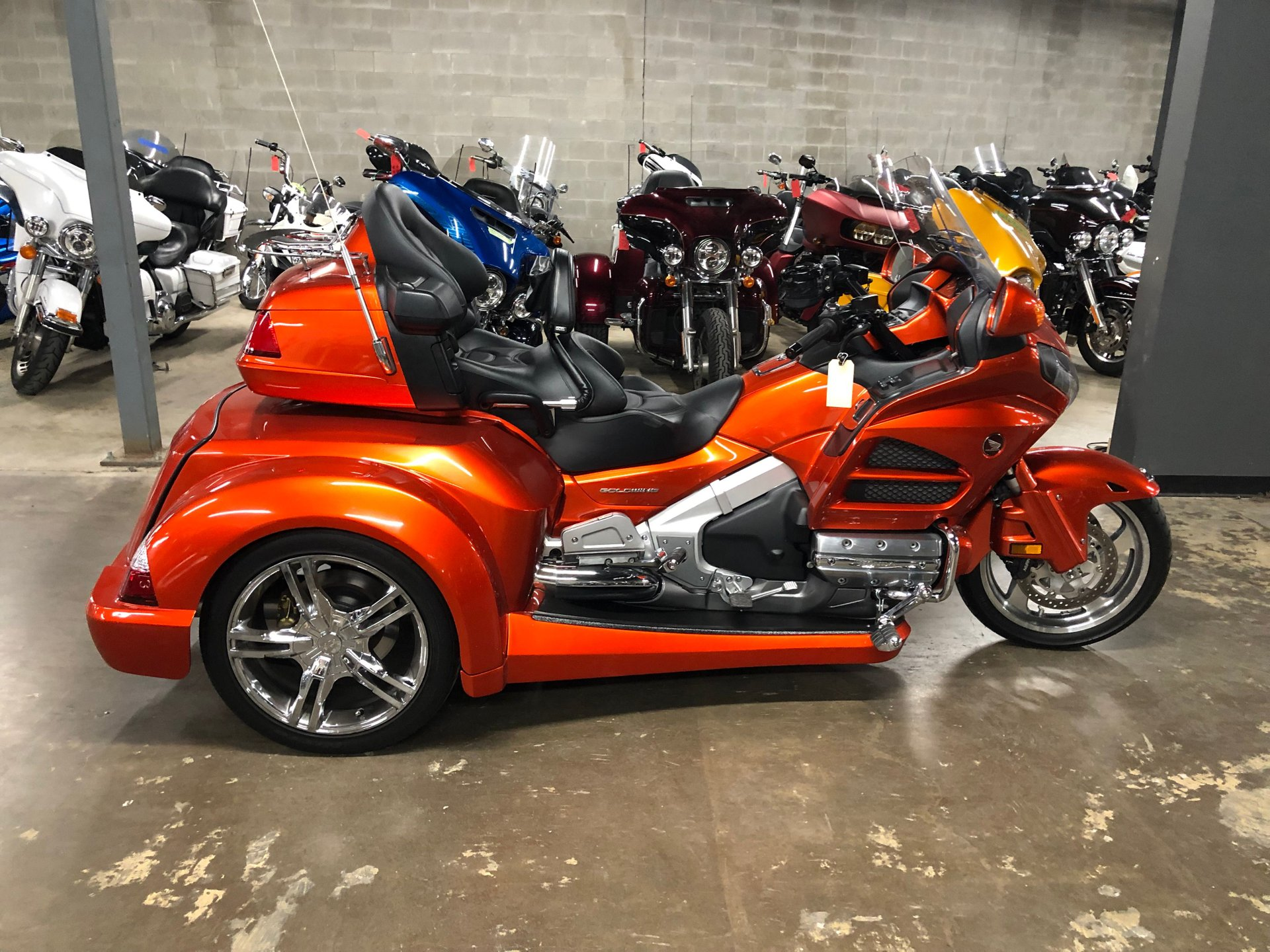 2016 honda gold wing trike gl1800hpmg w roadmaster conversion