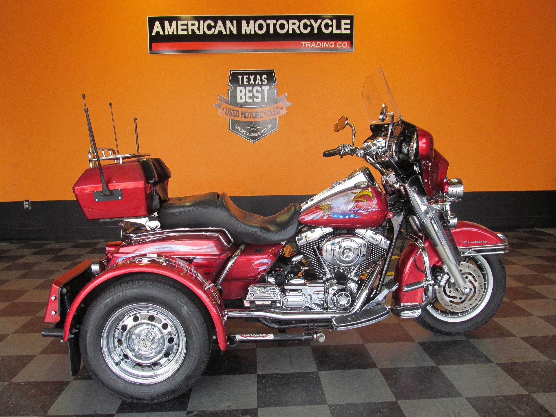 For Sale 2004 Harley-Davidson Road King Trike