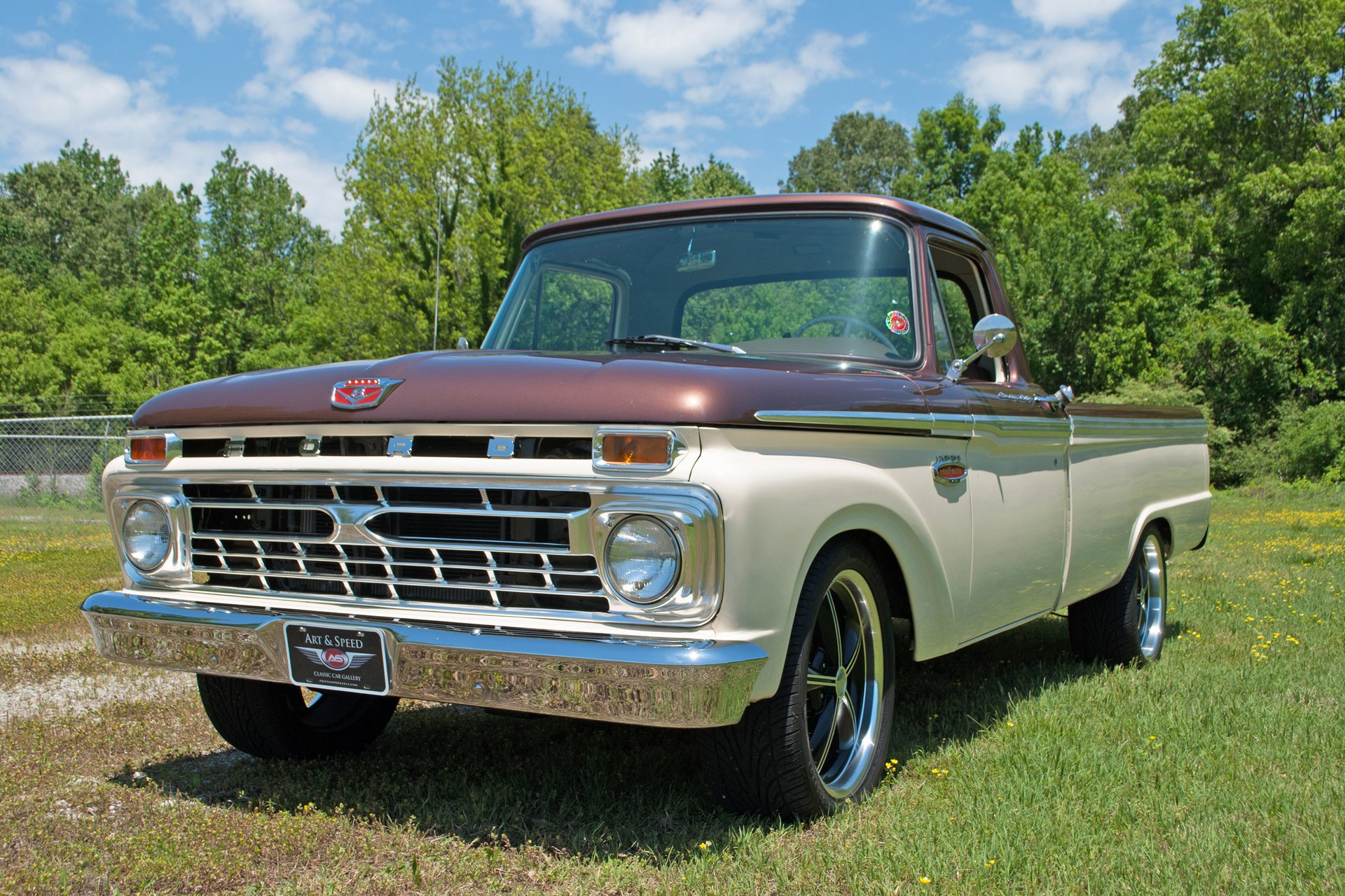 1966 Ford F100 For Sale 15086 Mcg 1955 Truck Art
