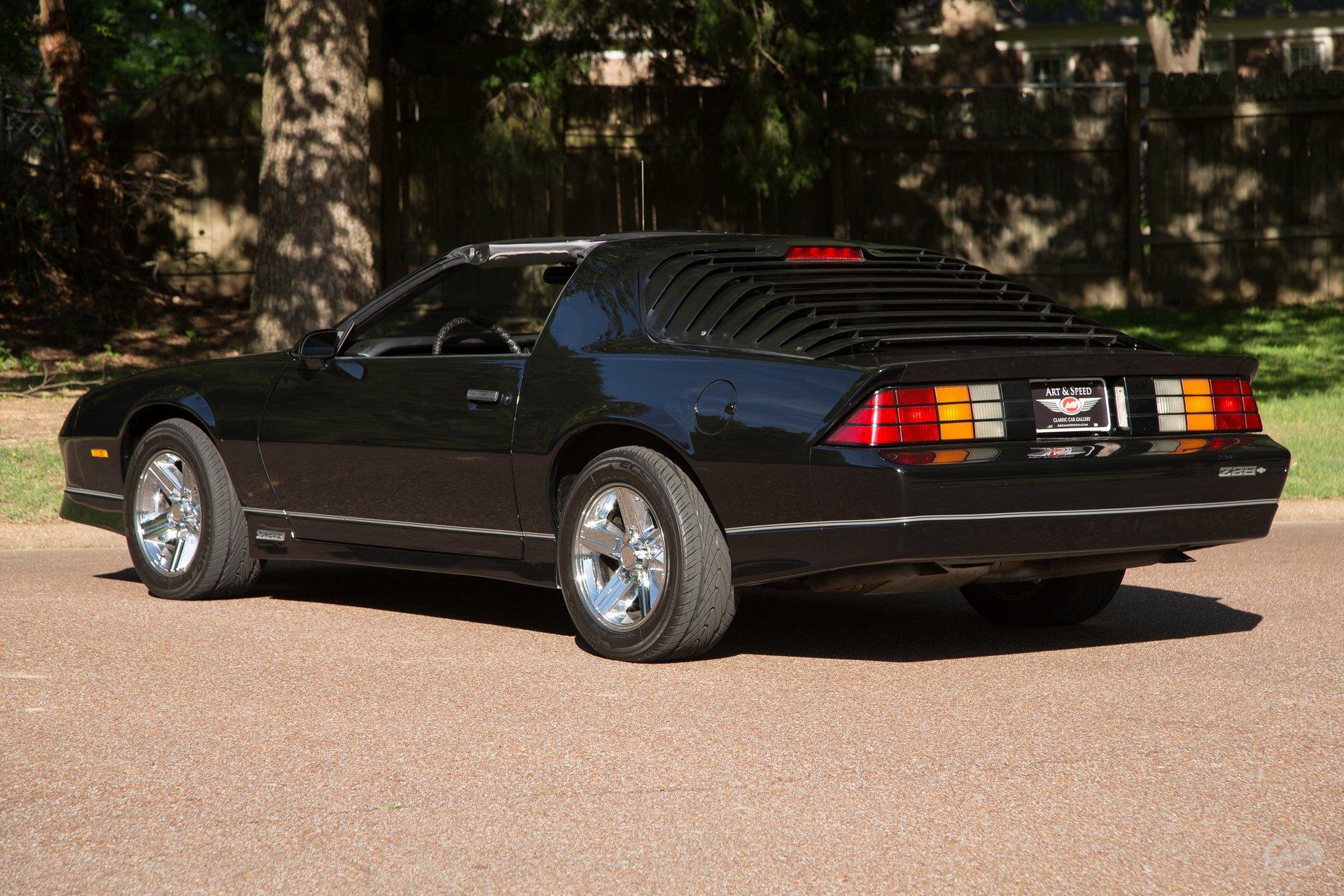 1986 Chevrolet Camaro Art Speed Classic Car Gallery In Memphis Tn