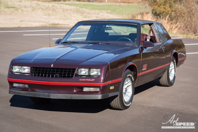 1987 Chevrolet Monte Carlo Art Speed Classic Car Gallery In