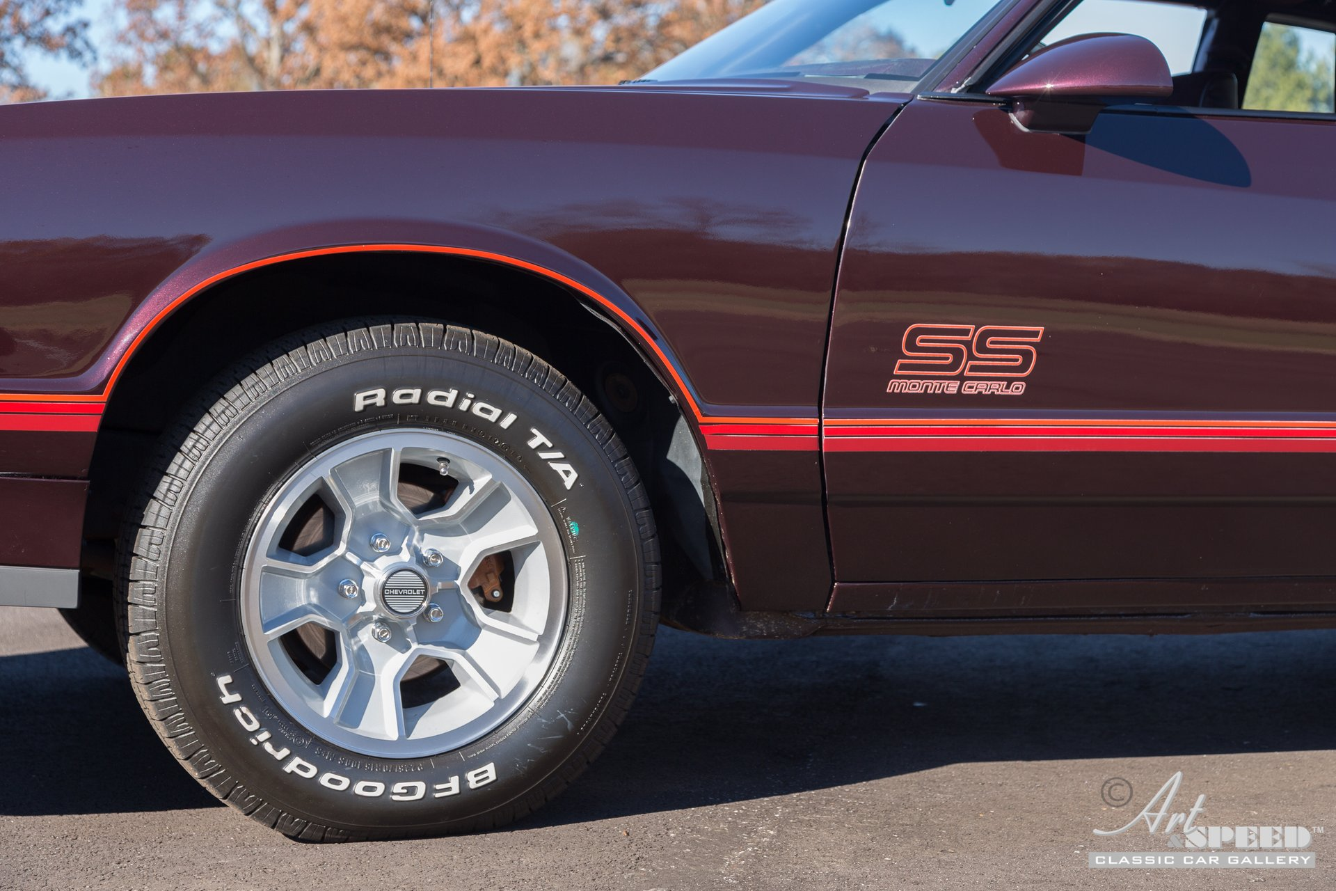 1987 Chevrolet Monte Carlo | Art & Speed Classic Car Gallery in