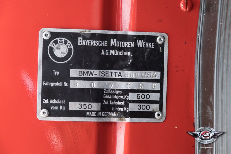 1957 BMW Isetta 55