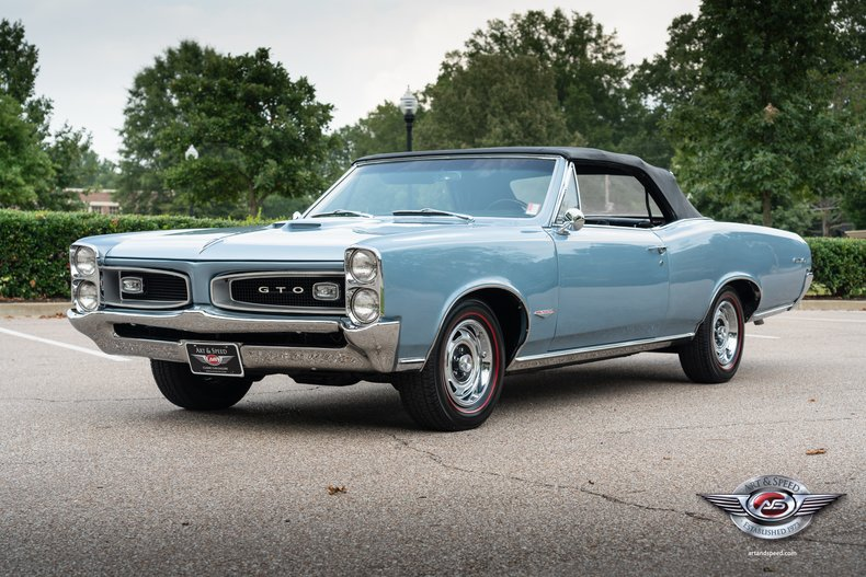 1966 Pontiac Gto Art Speed Classic Car Gallery In Memphis Tn
