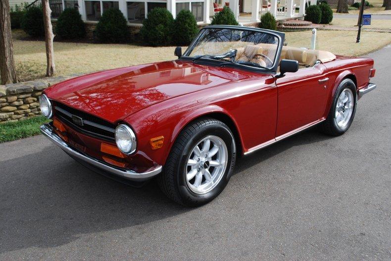 1974 Triumph TR6 37