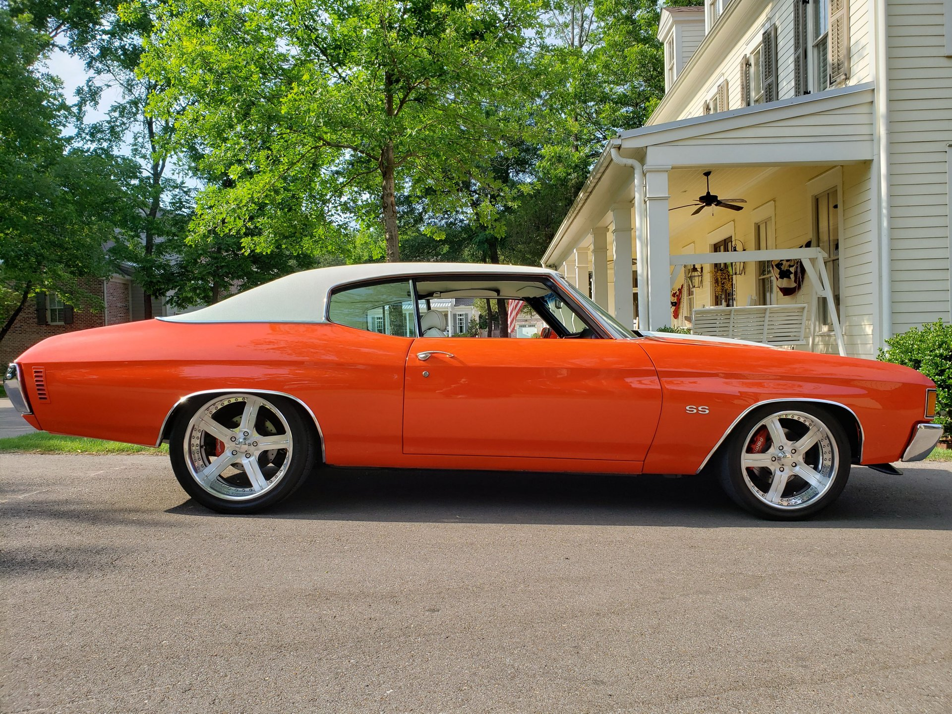 1972 chevrolet chevelle custom