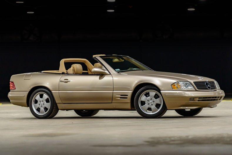 2000 Mercedes SL500