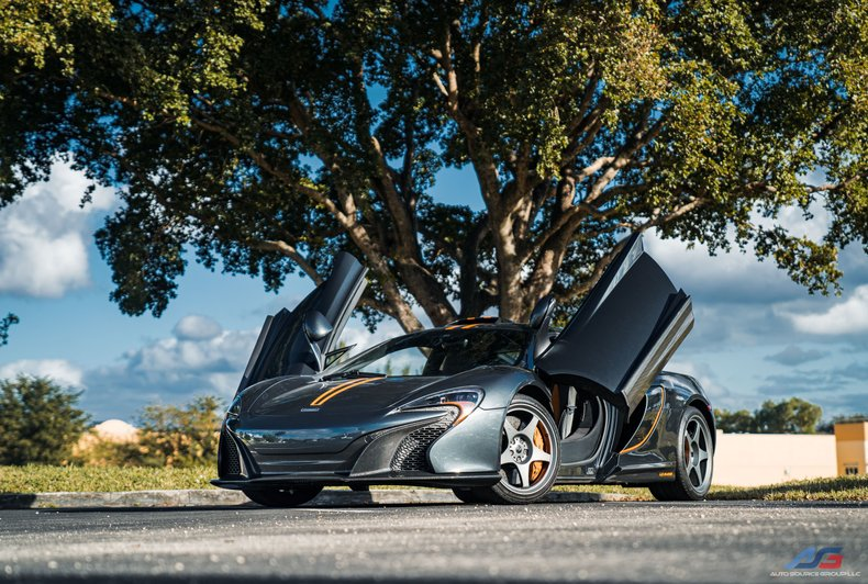 For Sale: 2015 McLaren 650 LeMans
