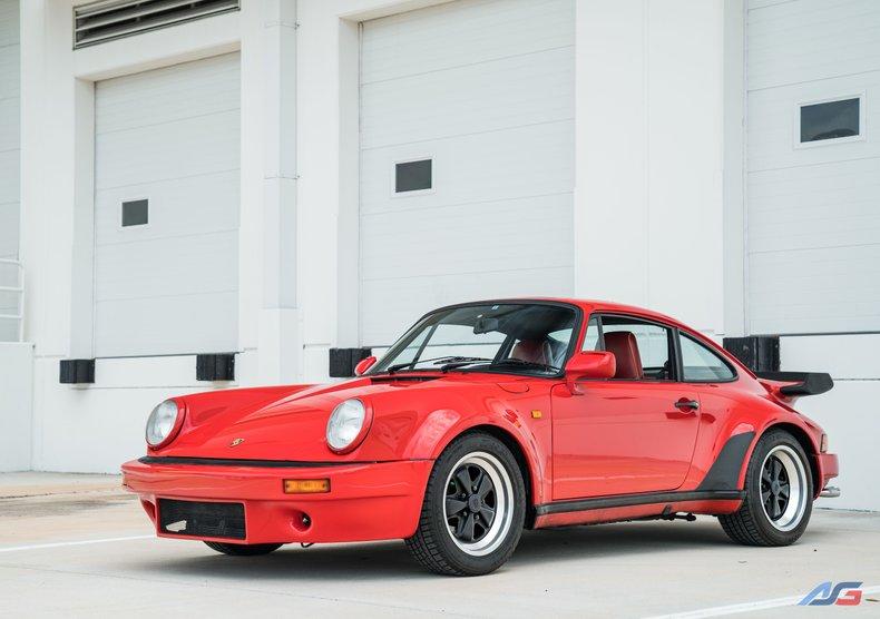 For Sale: 1986 Porsche 911 Turbo