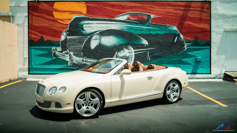 For Sale: 2012 Bentley Continental GTC