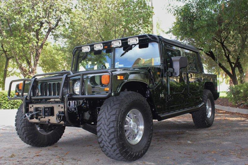For Sale: 2001 Hummer H1