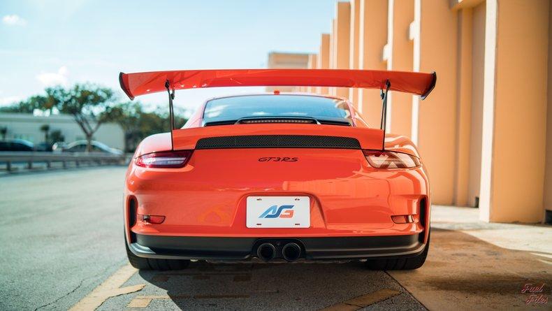For Sale: 2017 Porsche GT3RS