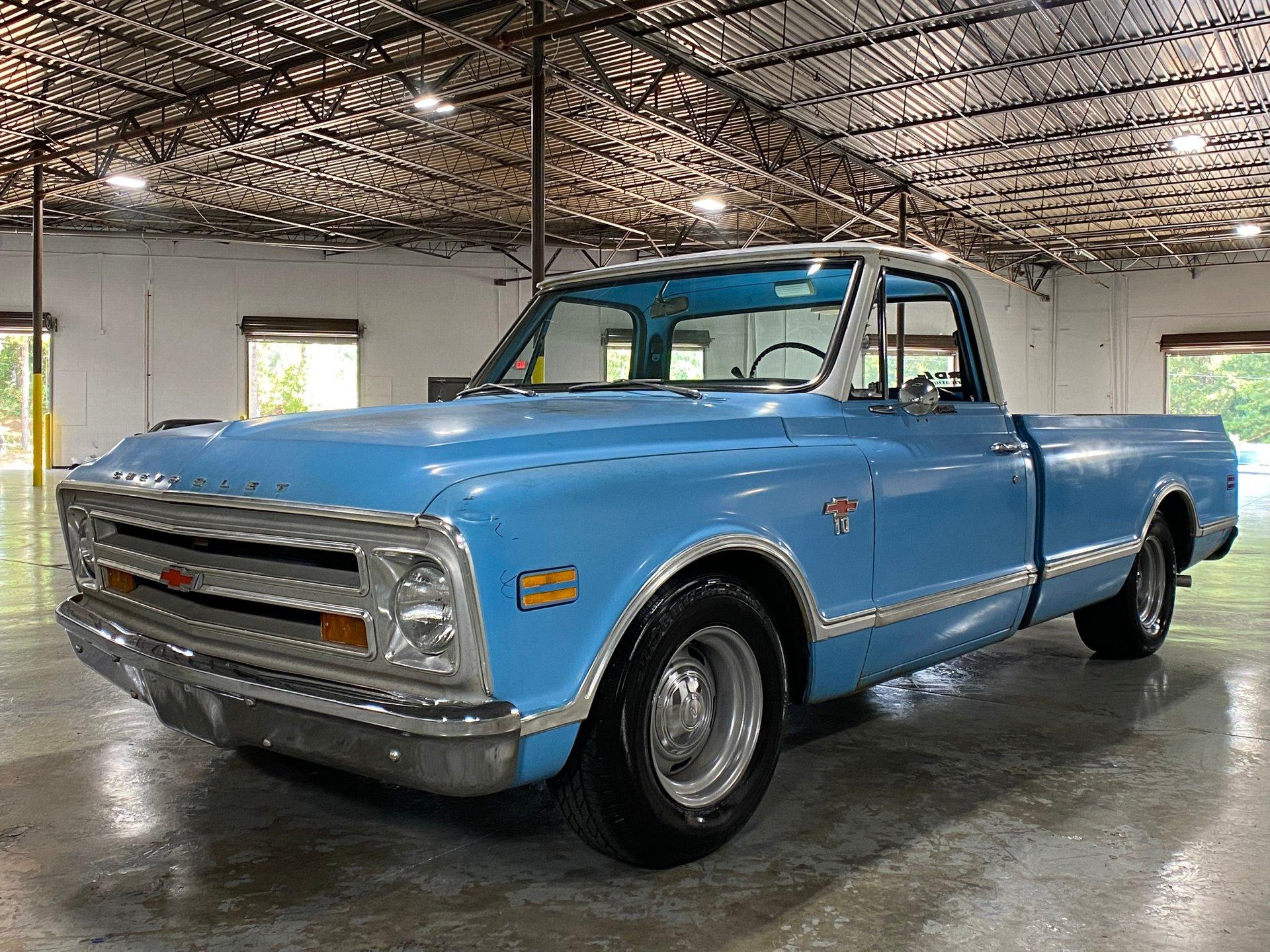 1968 chevrolet c10 ls