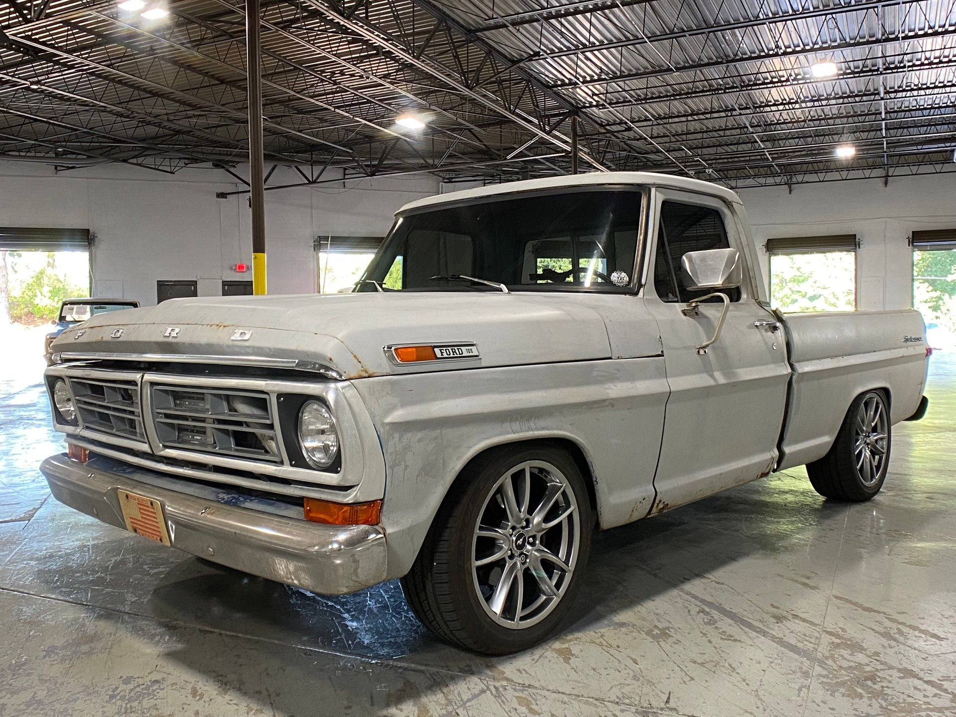 1972 ford f100 coyote