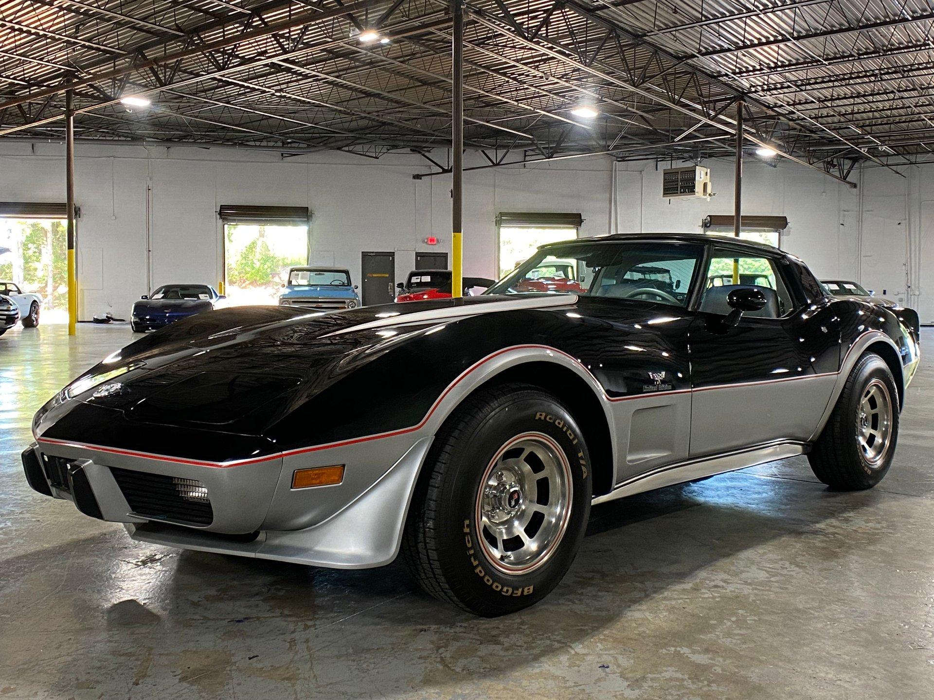 1978 chevrolet corvette l 48 25th anniversary edition