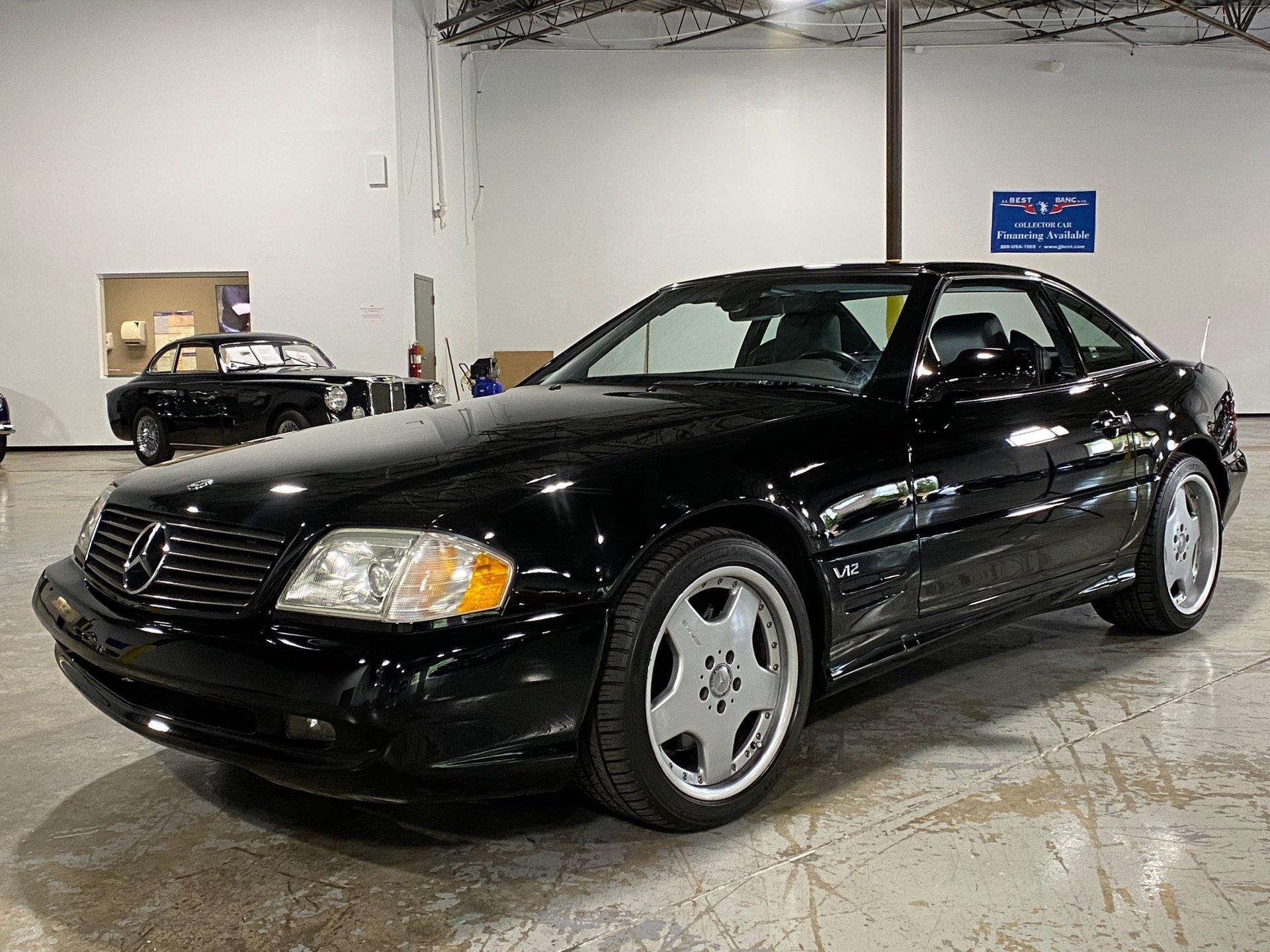 2001 mercedes benz sl600 v12
