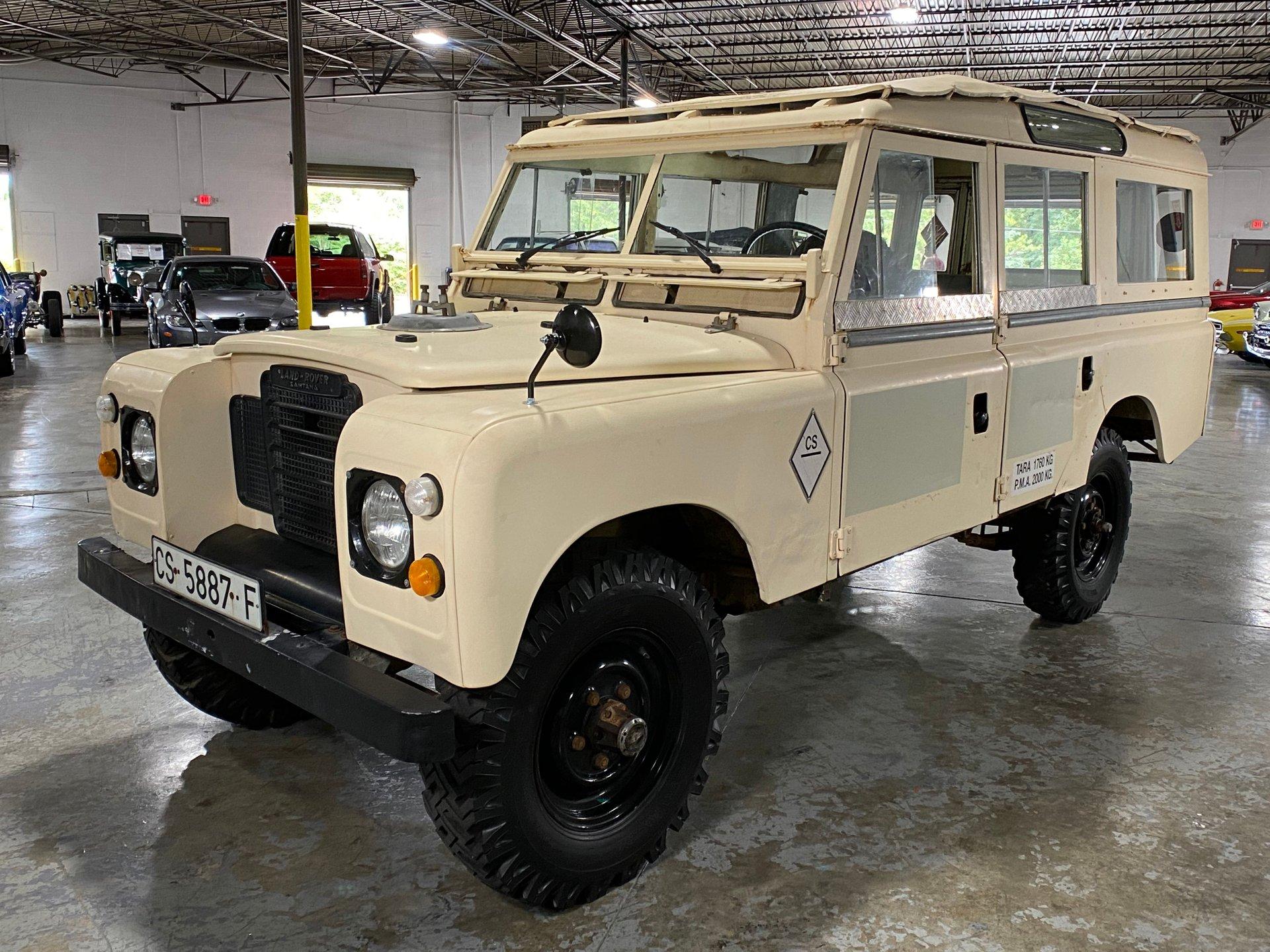 1978 land rover series iii santana