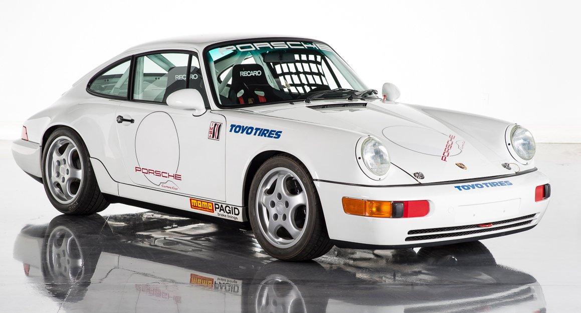 1992 porsche 911 rs cup car