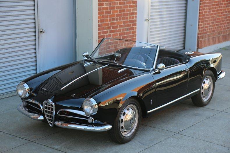 1958 Alfa Romeo Giulietta Spyder