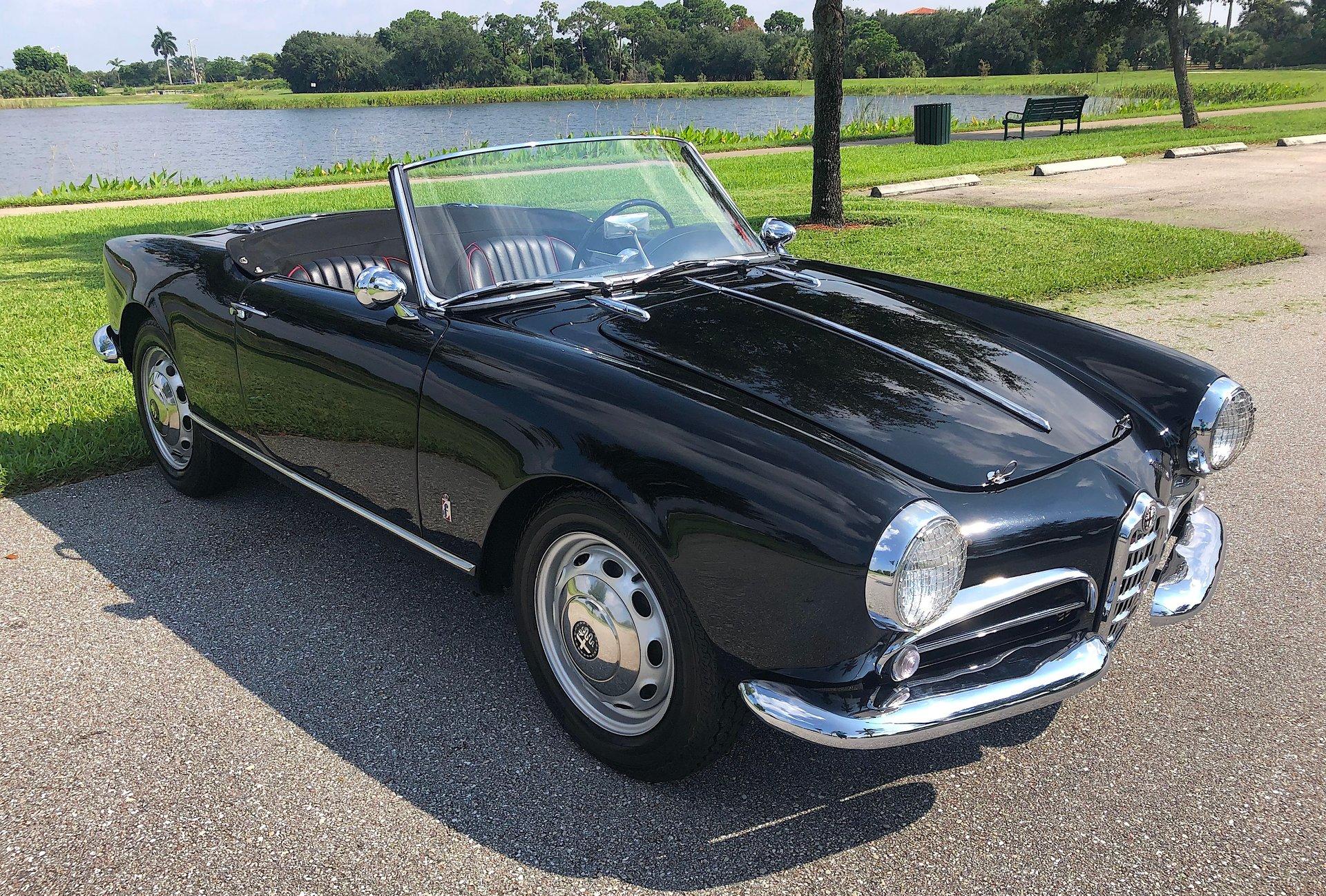 1958 alfa romeo giulietta spyder 750