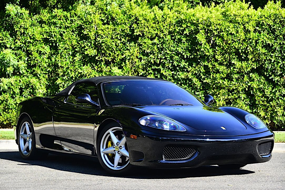 2004 ferrari 360 spider gated 6 speed