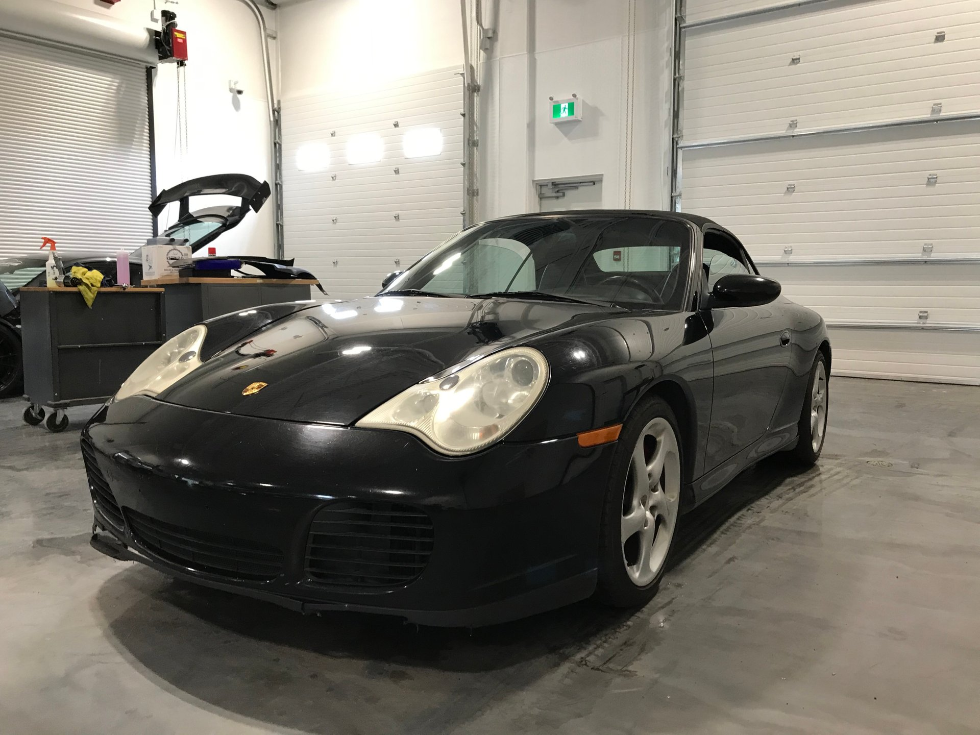 2004 porsche 911 2dr cabriolet carrera 6 spd manual