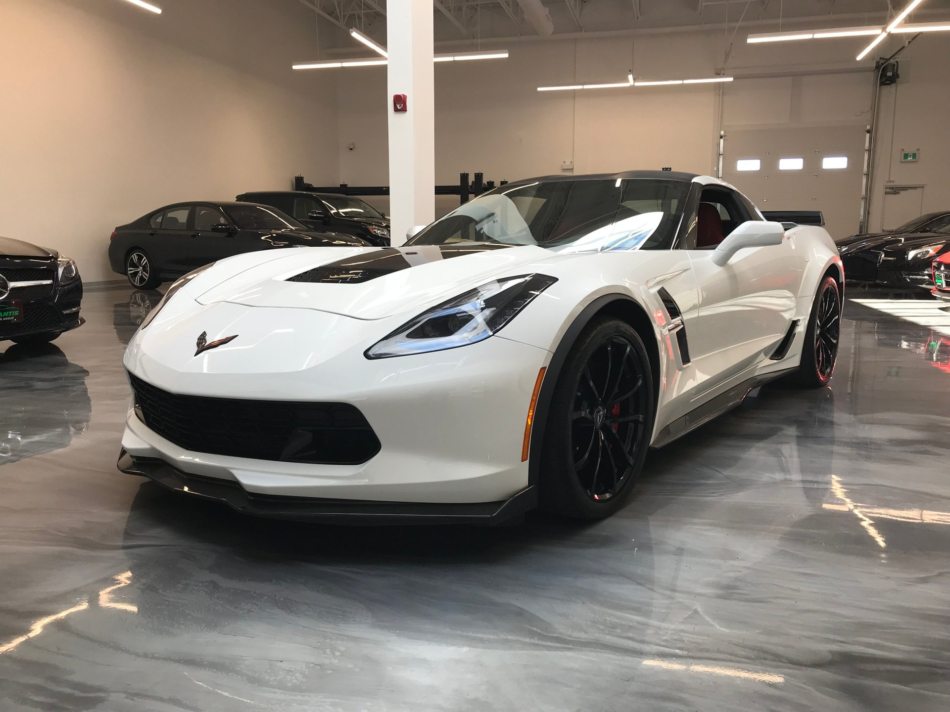 2018 chevrolet corvette grand sport 1lt