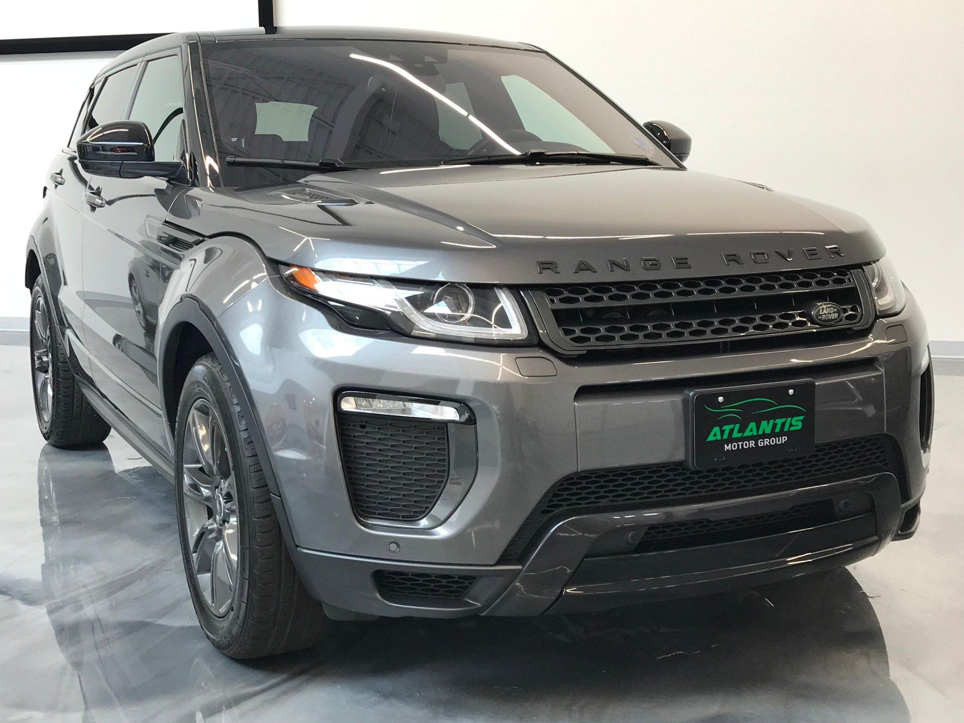 2018 range rover evoque sold