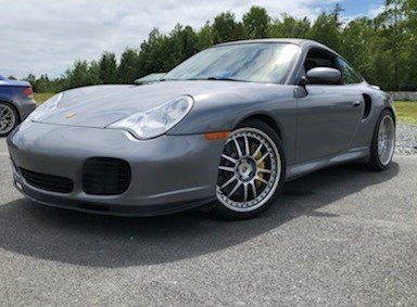 2004 porsche 911 2dr cpe turbo 6 spd manual