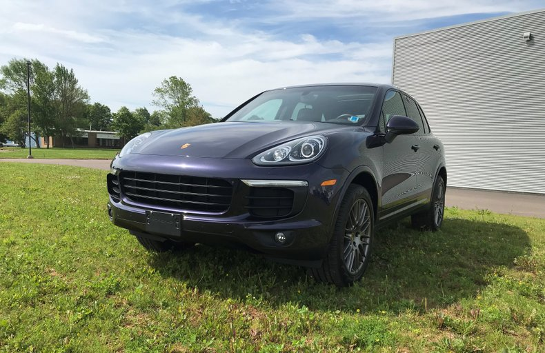 2018 Porsche Cayenne Platinum Edition For Sale