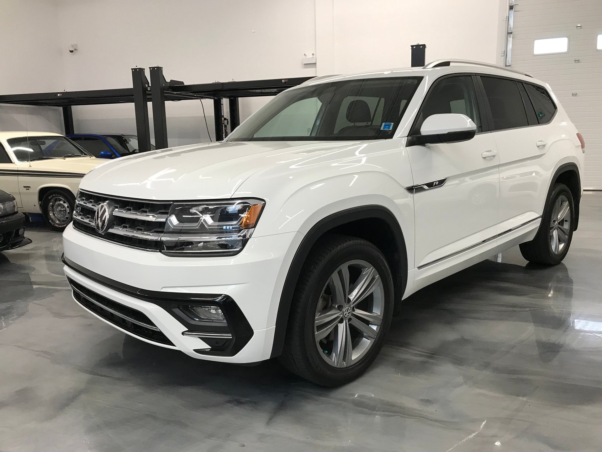 2018 volkswagen atlas highline sold