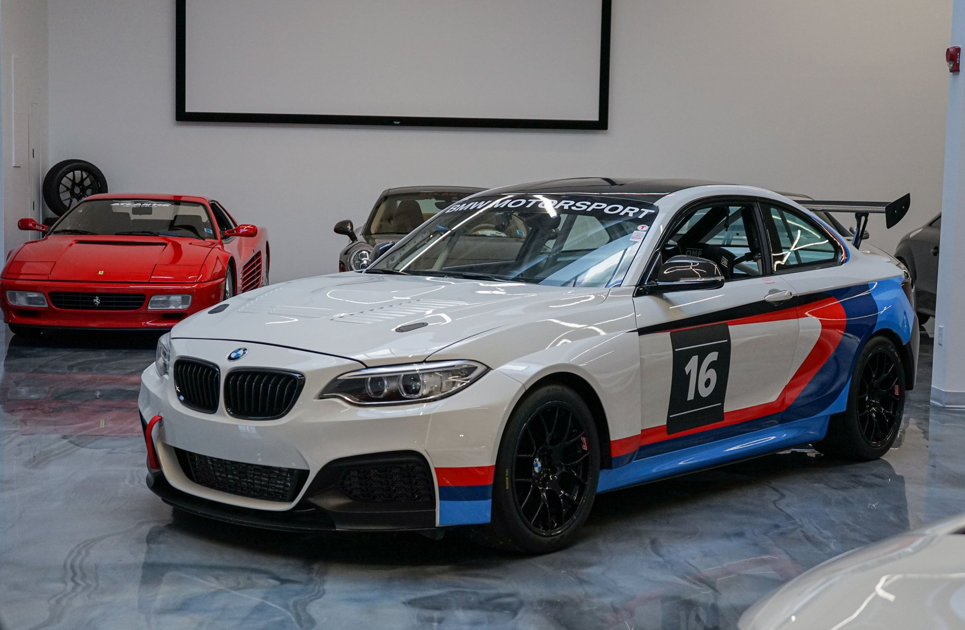 2016 bmw m235i racing