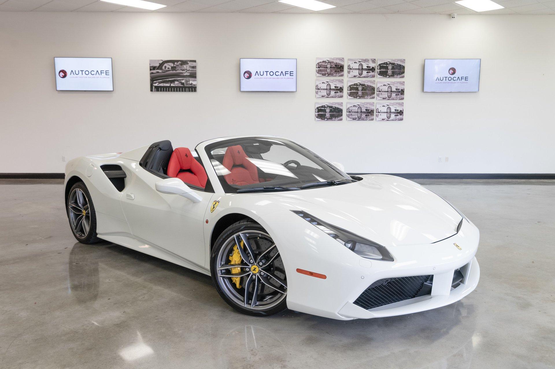 2018 Ferrari 488 Spider Auto Cafe