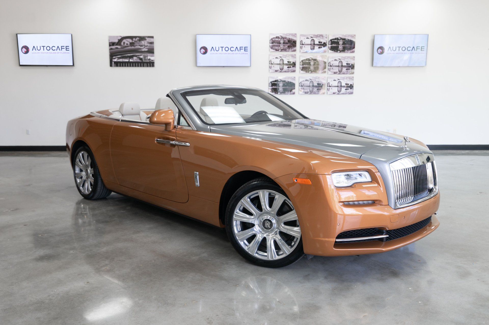 2016 rolls royce dawn 2dr convertible