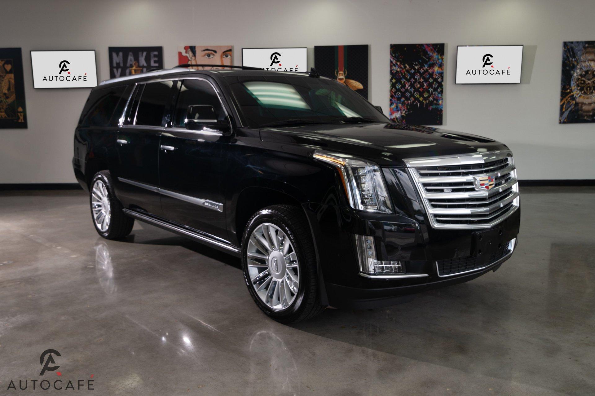 2017 cadillac escalade esv platinum limo