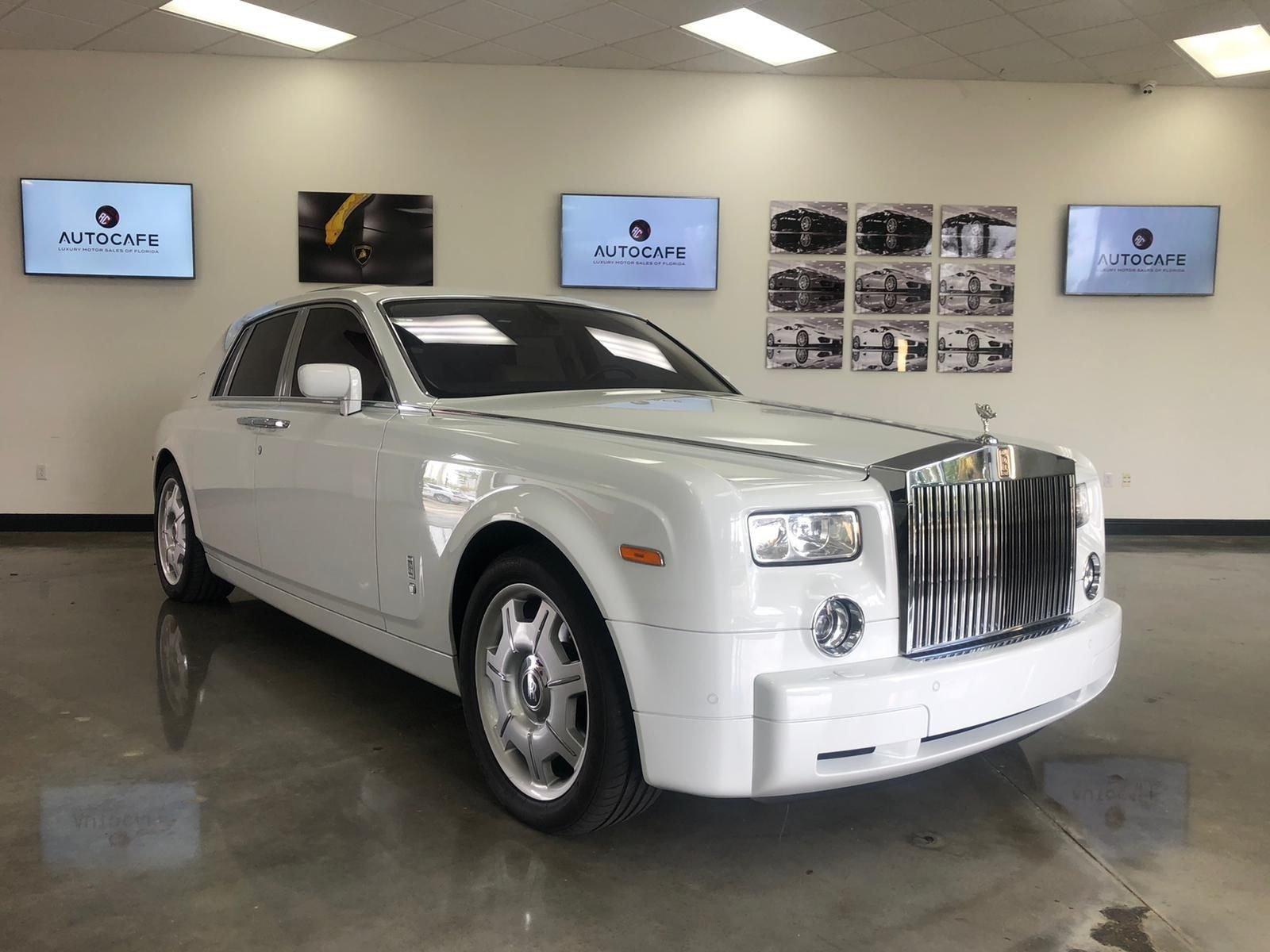 2007 rolls royce phantom 4dr sdn