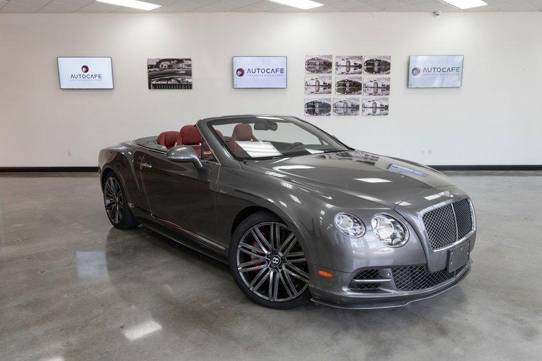 2015 Bentley Continental GTC Speed