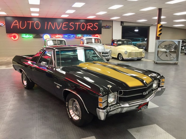 For Sale 1971 Chevrolet El Camino