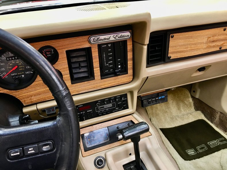 For Sale 1986 Mercury Capri