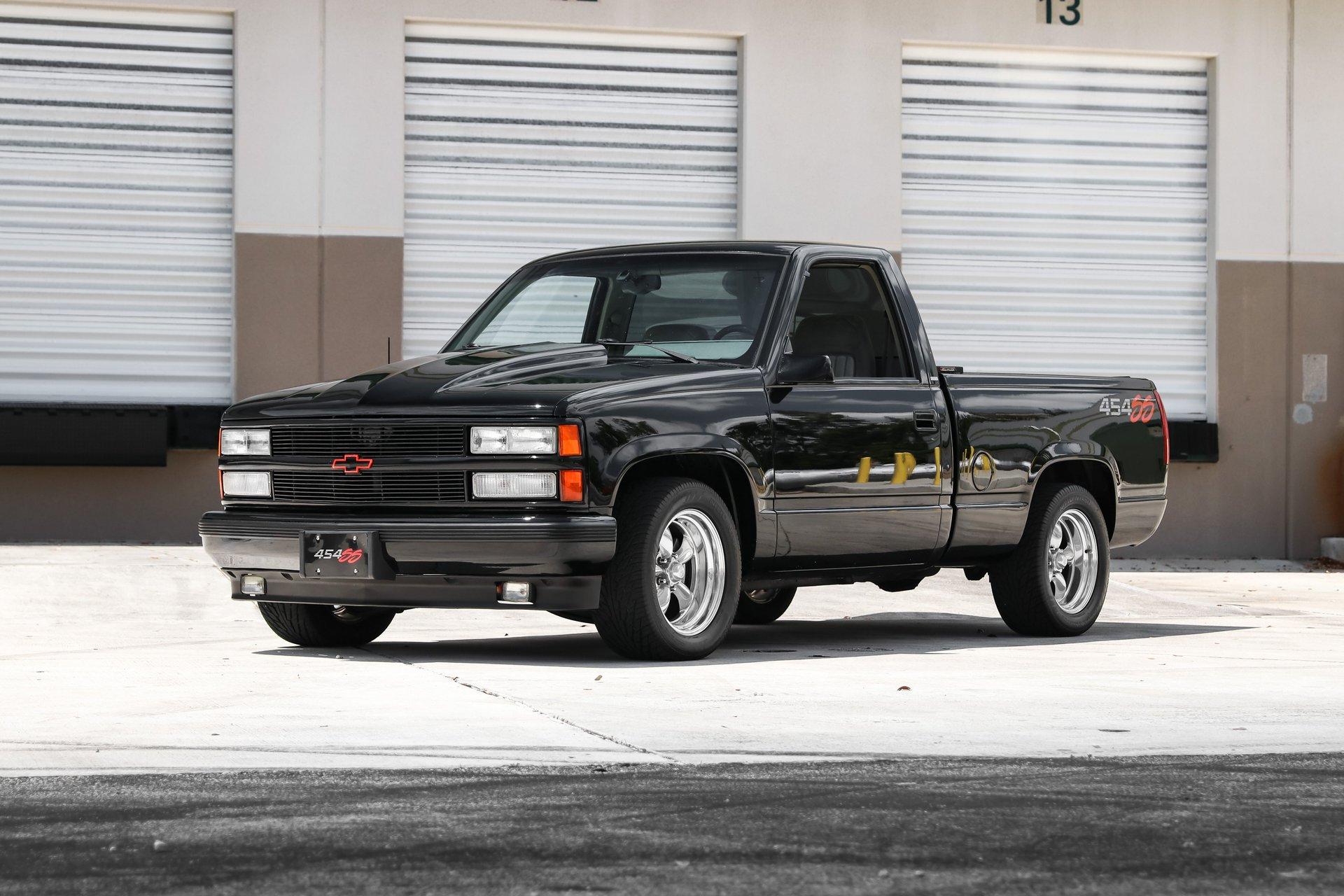 1993 chevrolet ss 454 pickup
