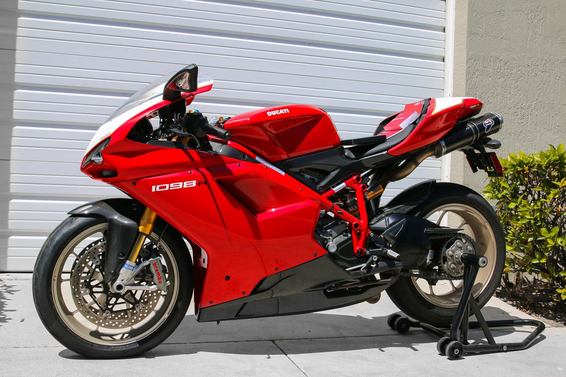 2008 ducati 1098r