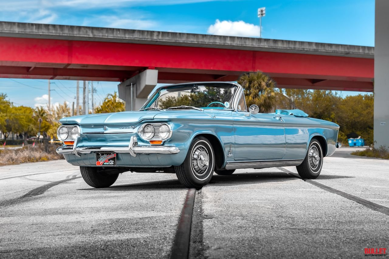 1963 chevrolet monza corvair sypder