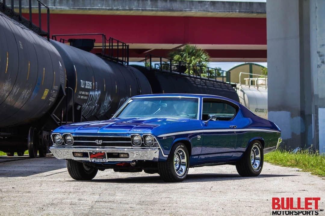 1969 chevrolet chevelle 454ci