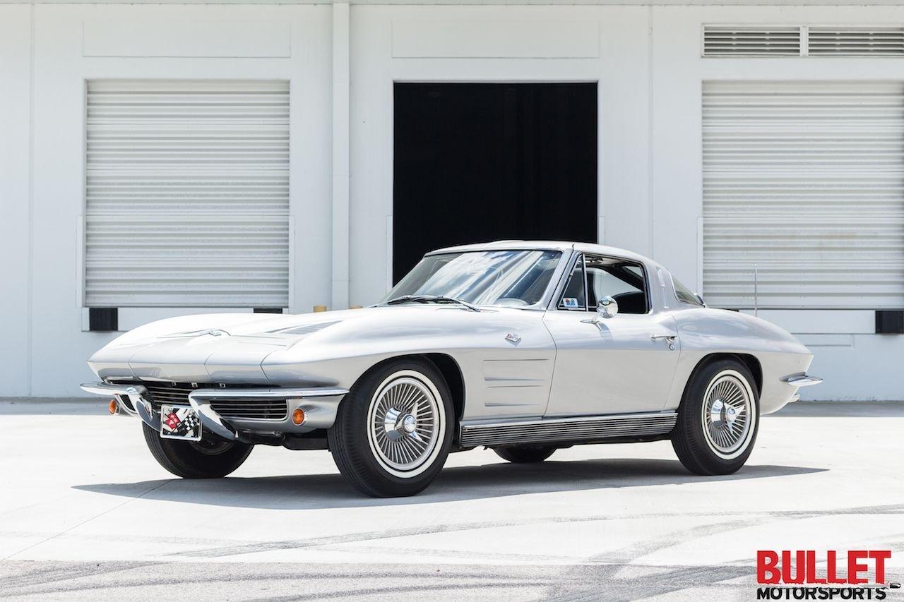 1963 corvette split window quick silver