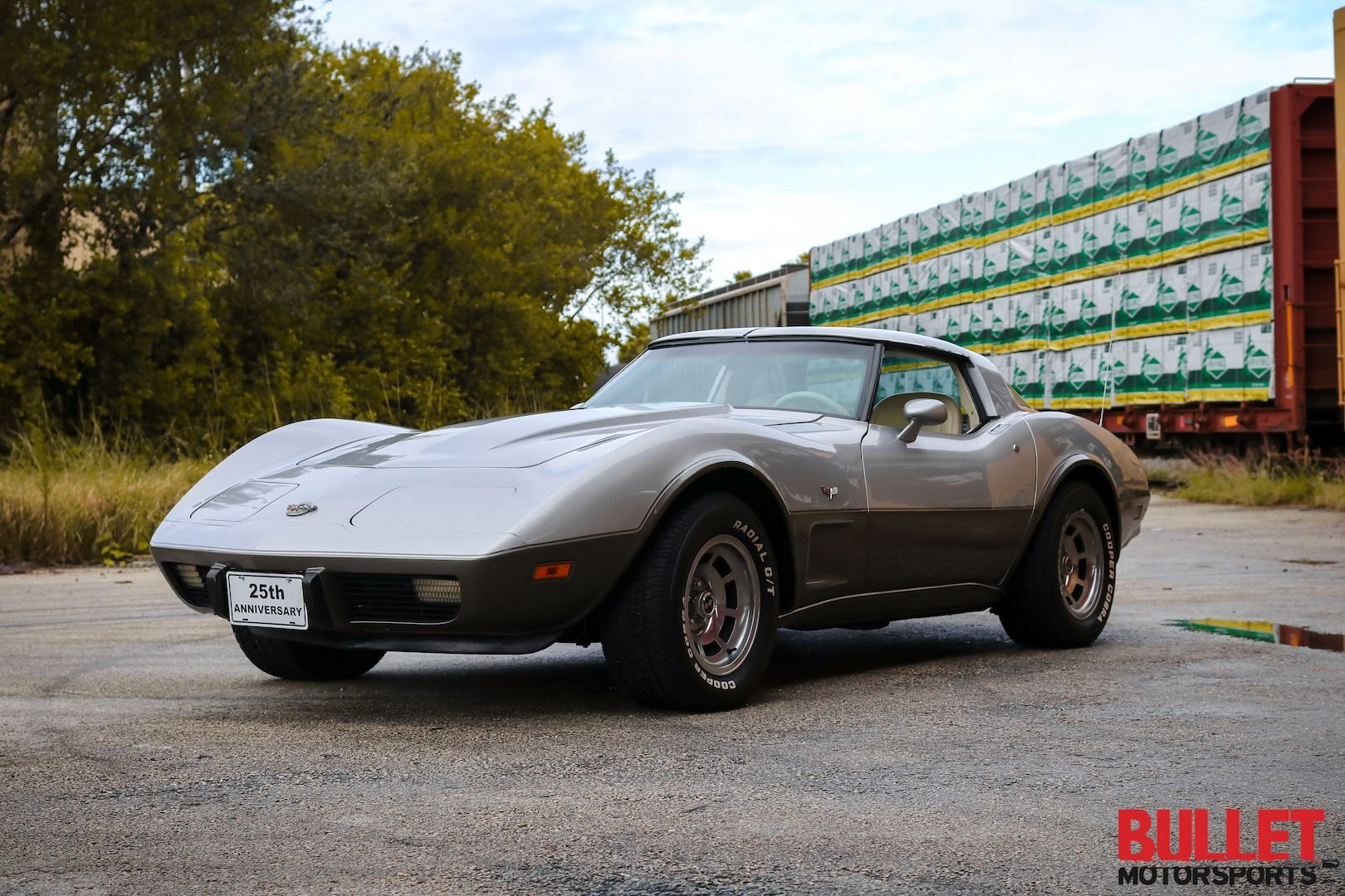 1978 chevrolet corvette 25th anniversary edition