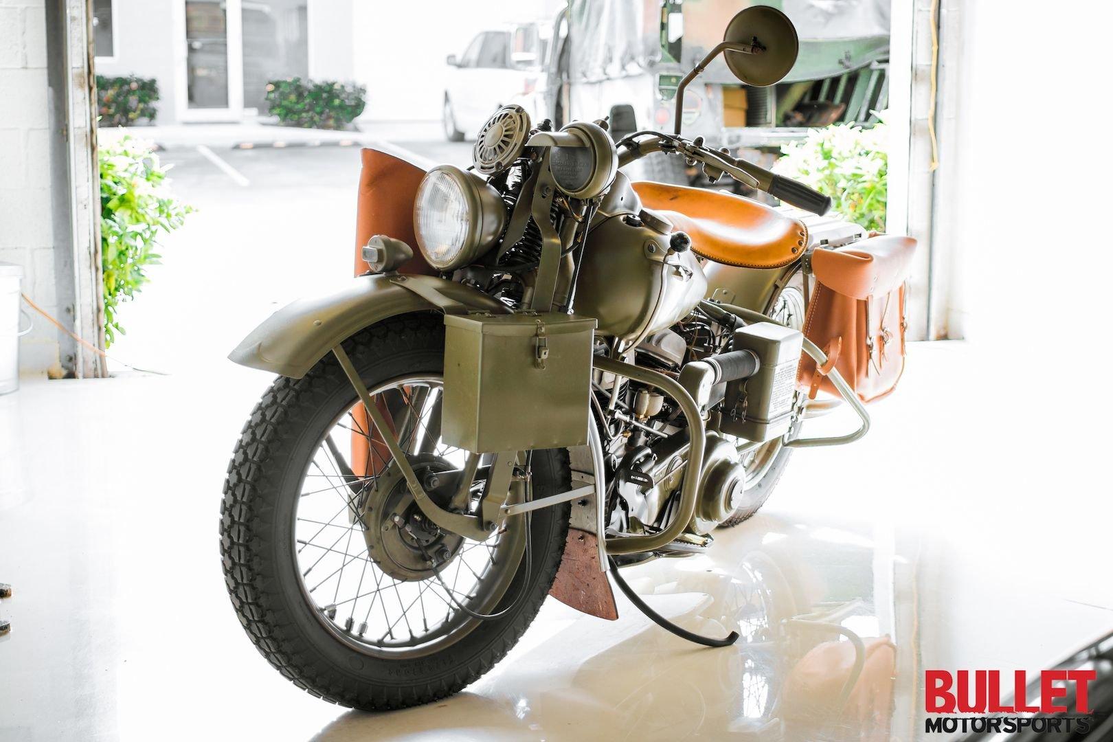 1942 harley davidson wla type iii