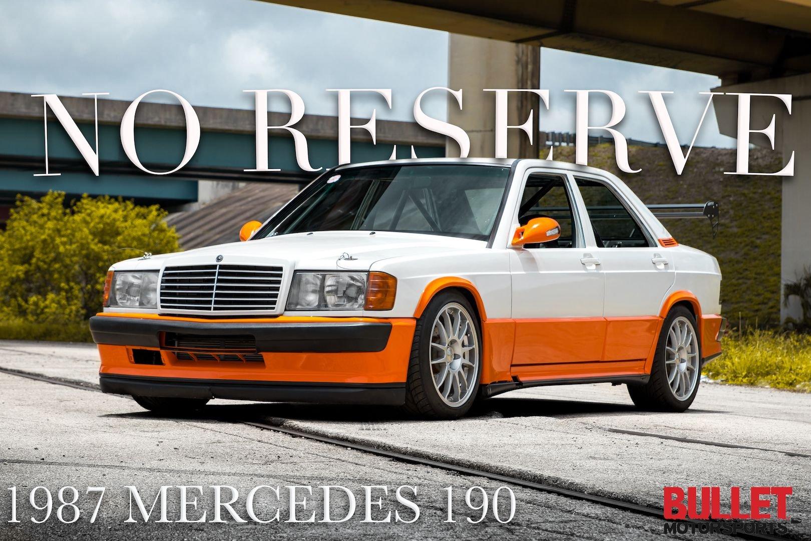 1987 mercedes 190 no reserve
