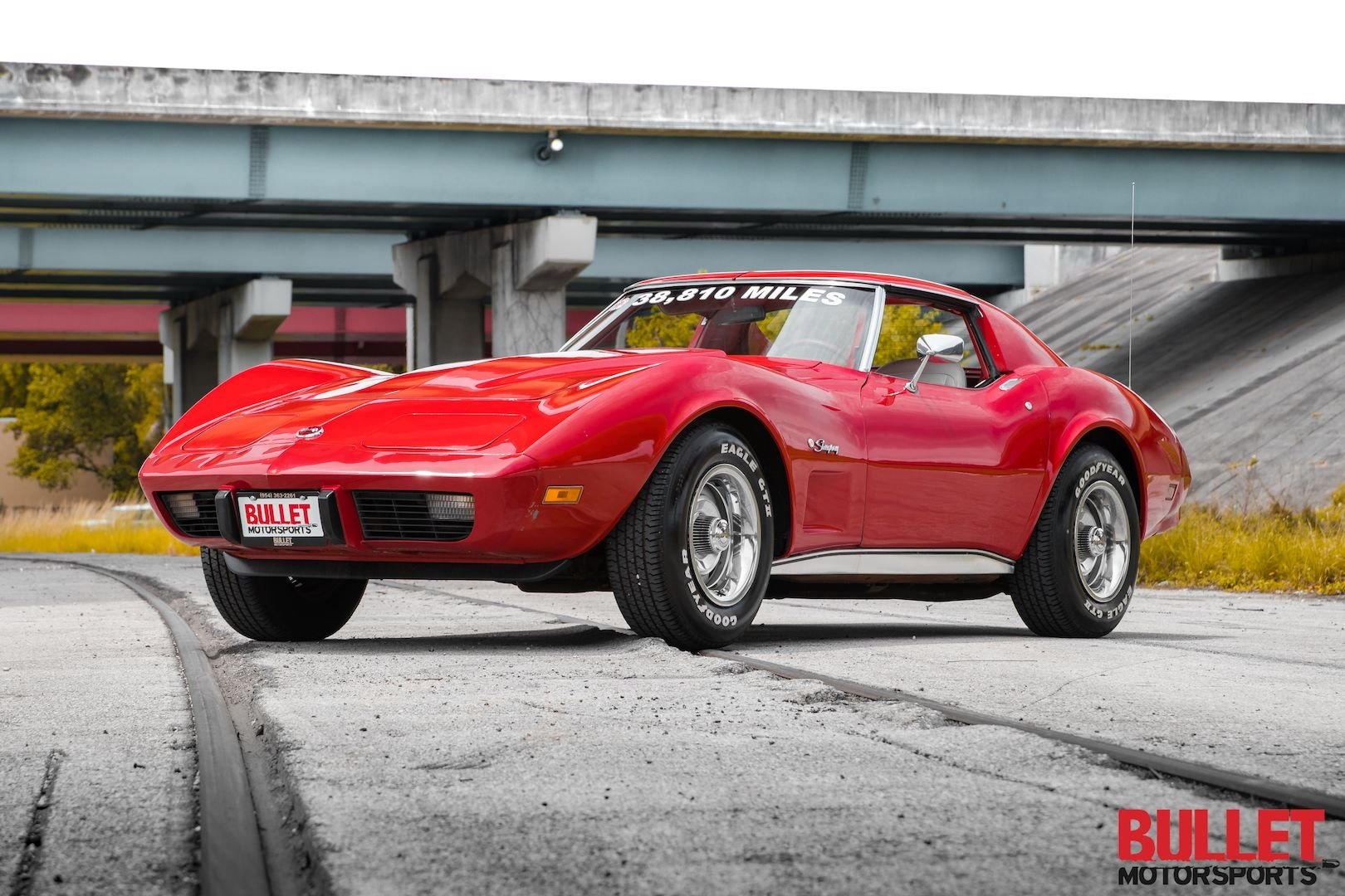 1976 chevrolet corvette no reserve